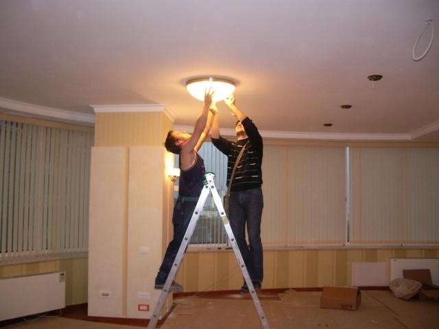 Информация о вызове электрика в квартиры