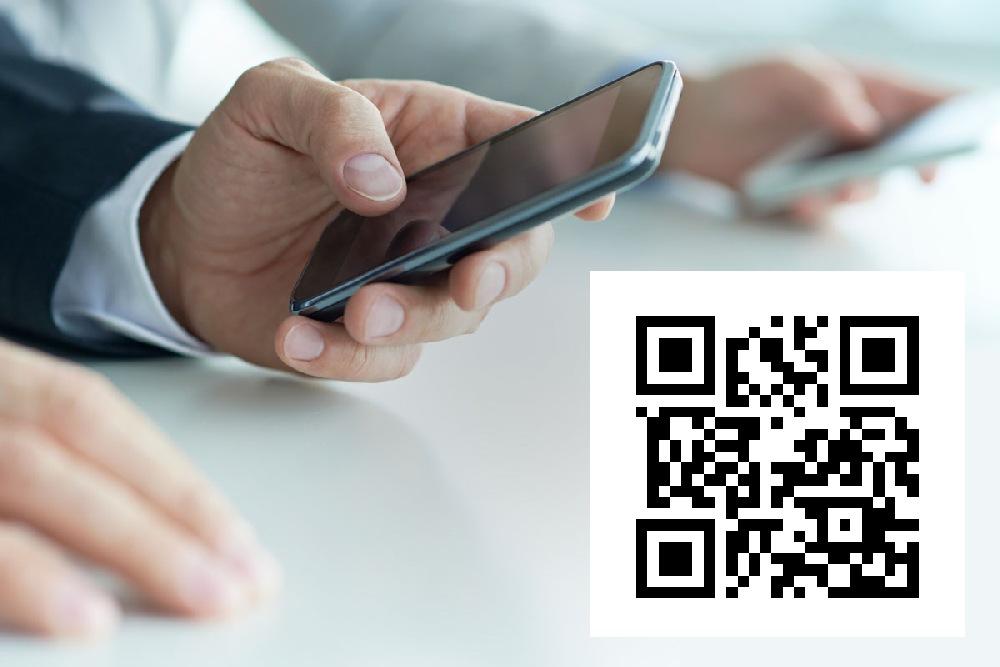QR-код в объявлениях об услугах электрика